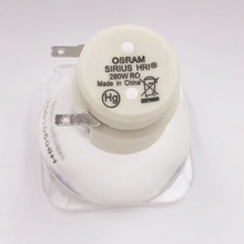 שלב תאורה 10R מנורת סיריוס OSRAM HRI 280W קרן אור 10R שלב מנורת להעברת ראשי קרן מנורת עבור הזזת ראש אור