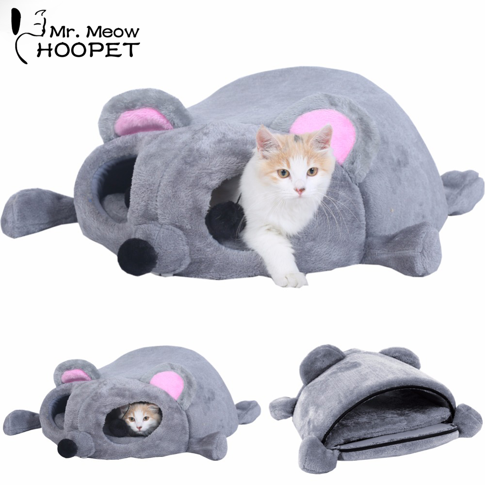 Hoopet Pet Dog Bed Warming Dog House Soft Material Nest ...