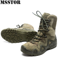 MSSTOR Men Hiking Shoes Hunting Trekking Tactical Boots Outdoor Athletic Walking Camping Sport Shoes For Men Anti Slip Sneakers