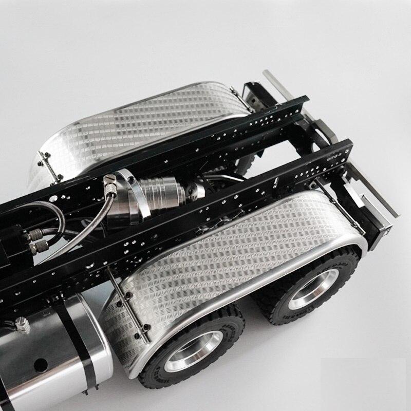 LESU Metal Rear Axle Q-9024 1//14 Tamiya RC Tractor Truck Car Model Accessory DIY