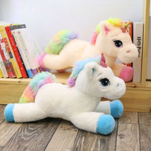 Soft Rainbow Unicorn Plush Toy 80 Cm Adorable Stuffed Animal Toys Brand For Children