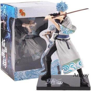 GINTAMA srebrny dusza Banpresto DX Vol.1 Sakata Gintoki figurka pcv kolekcjonerska Model zabawki 17 cm