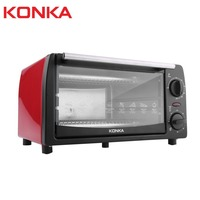KONKA 1050W 12L Electric Oven Household Multifunctional Mini Galvanized Sheet Baking Oven With Bakeware KAO 1208 Gifts