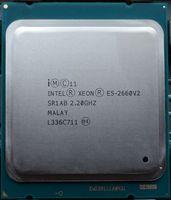Intel Xeon E5 2660 V2 E5 2660V2 SR1AB Процессор процессор 10 Core 2,20 ГГц 25 м 95 Вт E5 2660 V2 e5 2660V2
