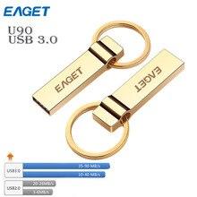 Eaget U90 золото USB 3.0 карту флэш-памяти с интерфейсом usb 16 ГБ 32 ГБ 64 ГБ в minons Гадкий милые Флеш накопитель флешки и диск творческая личность