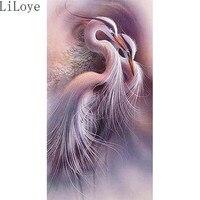 Li Loye 5D Diamond Embroidery DIY Diamond Painting Needlework Cross Stitch Kit Round Drill Animal Bird
