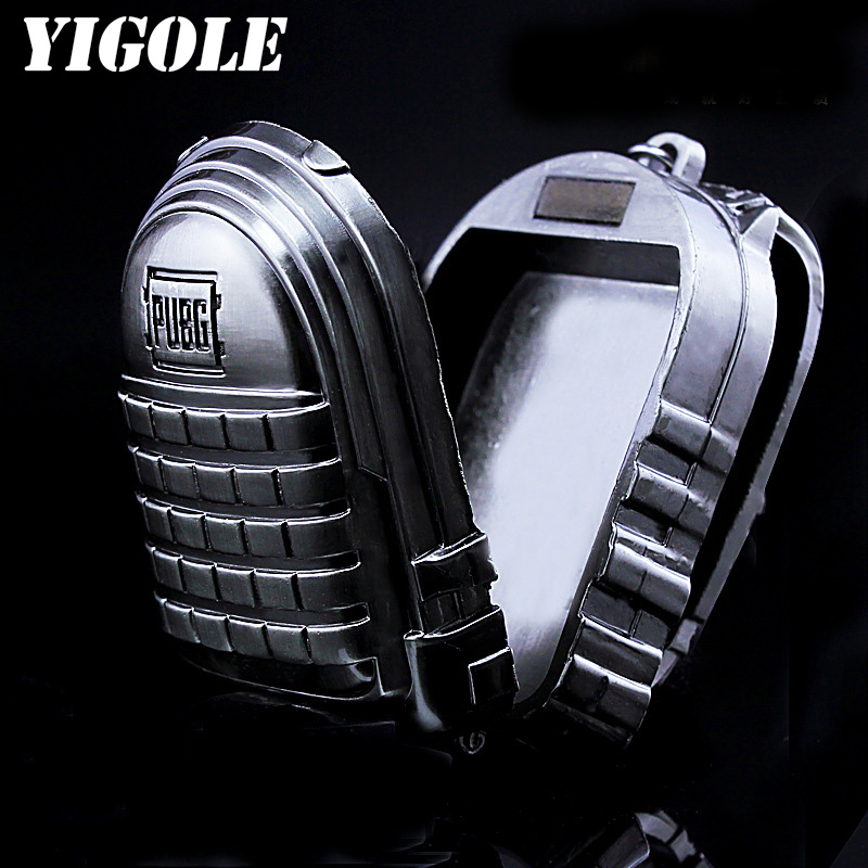 Games PUBG Military Backpack Keychain Figure Toy PUBG Playerunknowns Battlegrounds Action Figure Kids Toys
