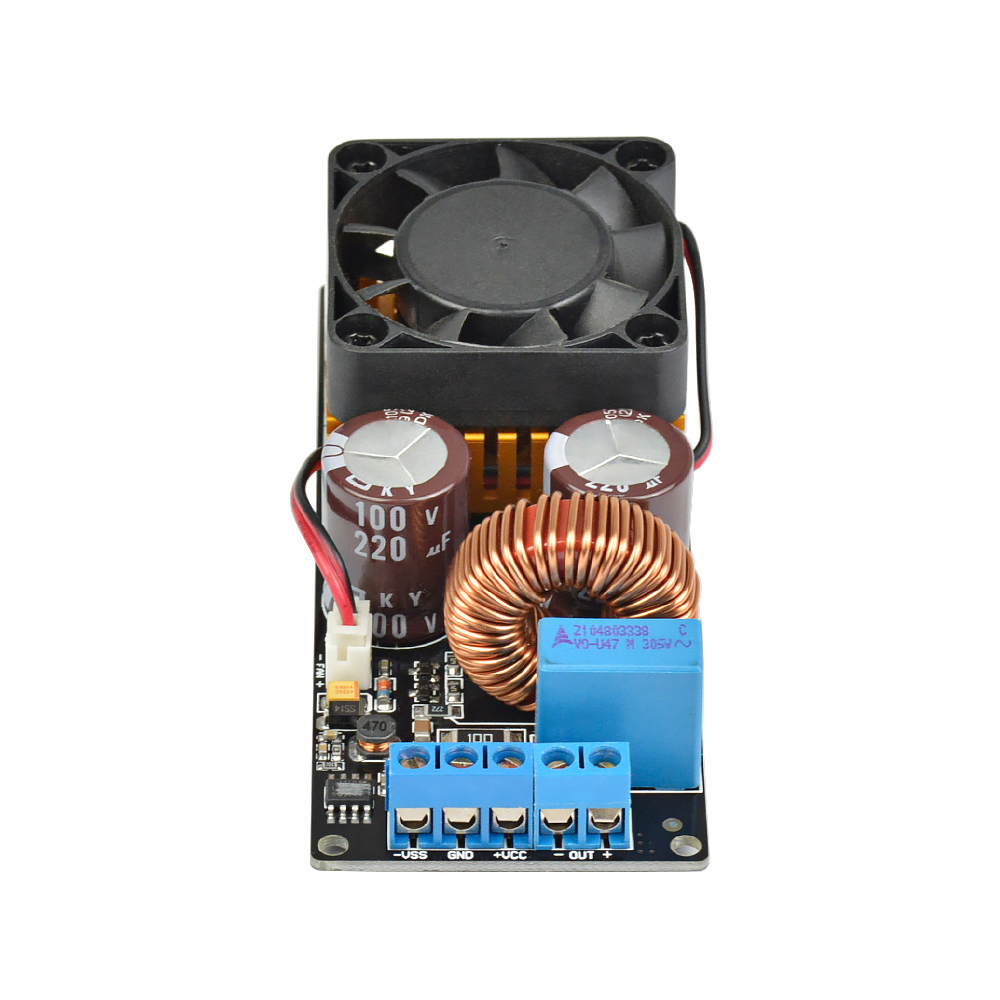 Aiyima 500W IRS2092 HIFI Digital Amplifier Board Mono High Power Subwoofer Audio Amplifier Board Super LM3886 assembeld mono lm3886 hifi amplifier board base on jeff rowland lm3886 power amplifier