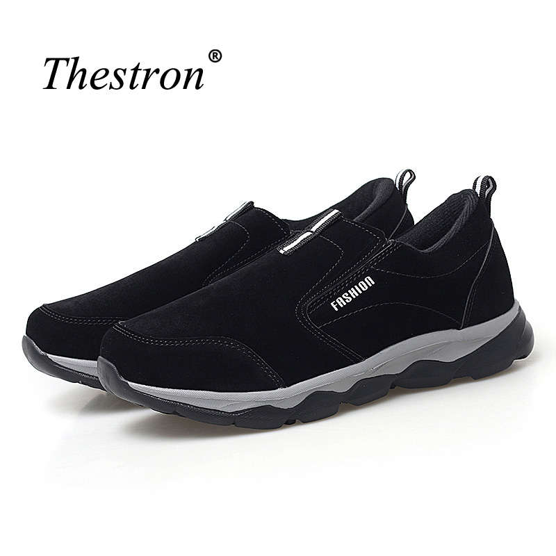 Couples Outdoor Sneakers Dark Blue Purole Mens Trail Shoes Autumn Winter Fitness Women Shoes Comfortable Slip On Running Shoes