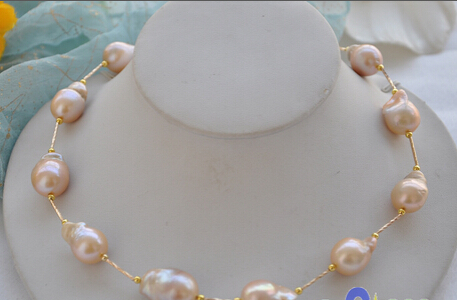 FREE SHIPPING 0001752 Huge 20PINK baroque KESHI REBORN PEARL GOLDEN NECKLACE () jeremy moskowitz group policy fundamentals security and the managed desktop