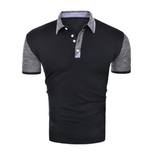 ZOGAA Brand Clothing Men Polo Shirt Business Casual Solid Male Short Sleeve High Quality Pure Cotton Hot Sale