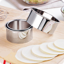3pcs / set! High quality Stainless steel cut dumplings leather mold  kitchen tools accessories.
