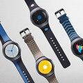 Preço barato! 2017 pulseiras de relógio preto 22 mmnew moda silicone pequena pulseira cinta para samsung galaxy gear s2 sm-r720 qualidade superior