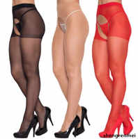 Shengrenmei NEW Pantyhose Plus Size Tights Fashion Stockings Women Ladies Sexy Lingerie Open Crotch Tights Medias Dropshipping