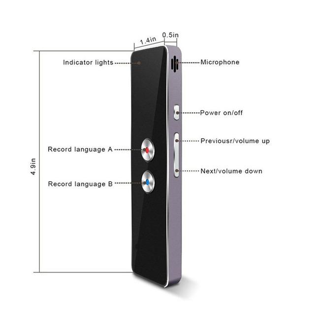 T8 Pocket Voice Translator