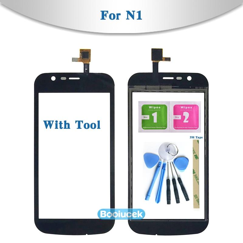 Сенсорный экран с дигитайзером, экран 4,5 дюйма для Nokia 1, N1, TA-1047, TA-1060, TA-1056, TA-1079, внешнее стекло, панель объектива