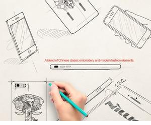 Image 5 - Nillkin brocade 중국 스타일 케이스 아이폰 7 커버 pu 가죽 빈티지 뒷면 커버 아이폰 7 플러스 케이스 애플 4.7 & 5.5