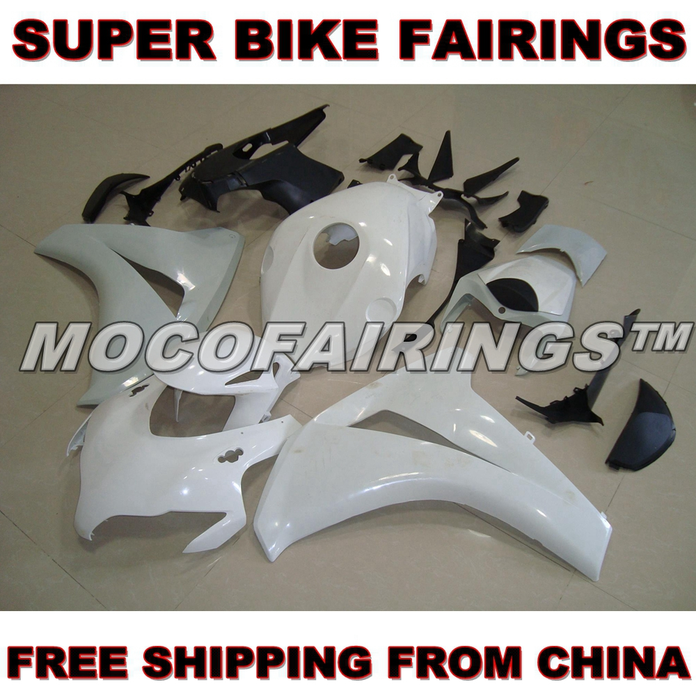 Motorcycle Unpainted ABS Fairing Kit For Honda CBR1000RR 2008 2009 2010 2011 Fairings Front Nose Kits Bodywork Pieces цены