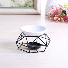 Special Stainless Steel Oil Burner Candle Aromatherapy Oil Lamp Home Decorations Aroma Furnace Candle Holders