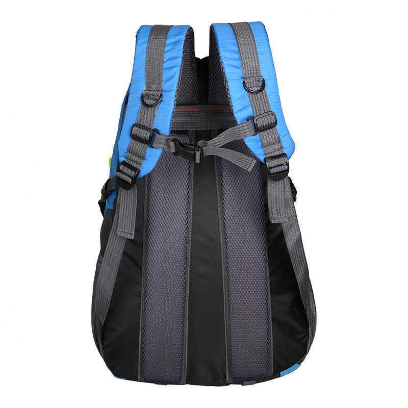 Panas Wanita dan Pria Ransel Oxford Tahan Air dengan Telinga Tas Karung Ransel Perjalanan Pendakian Gunung Ransel Trekking