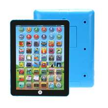 Double Language Learning Machine Baby Tablet Educational Toy For Children Electronic Touch Tablet Computer Musical Toy