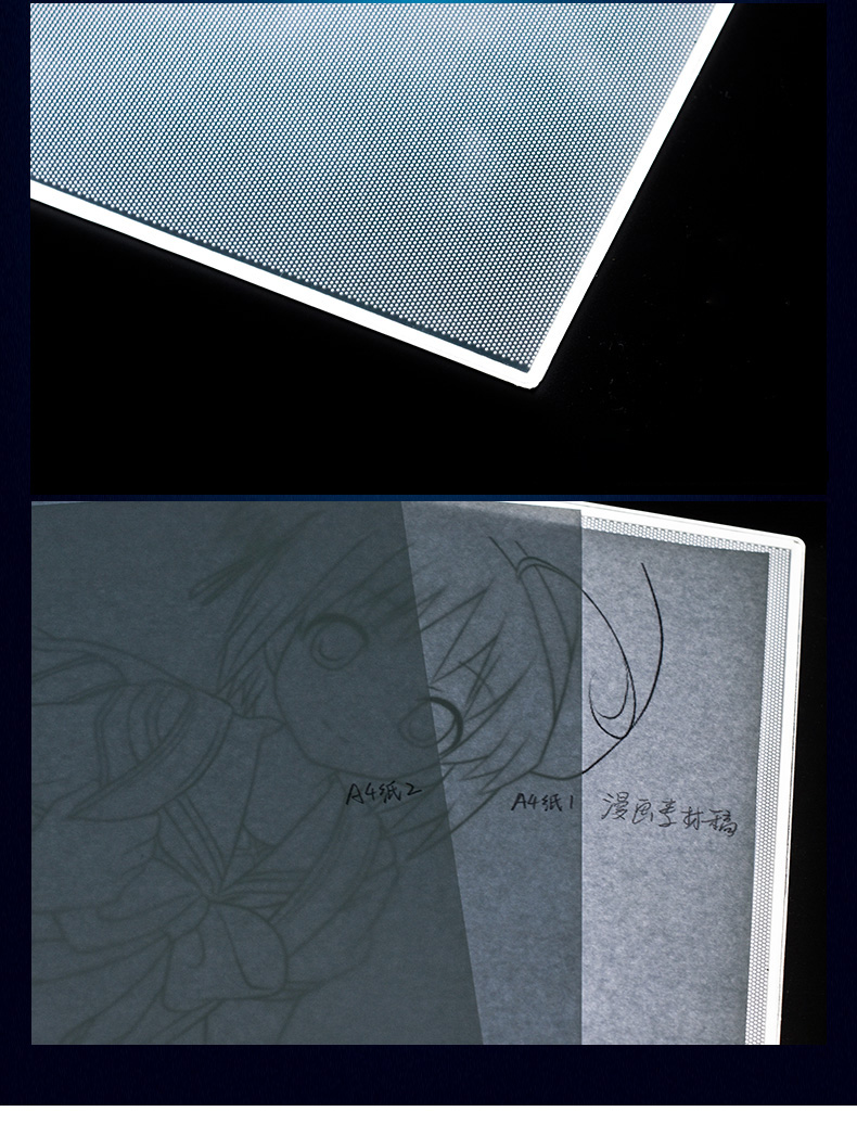 Led drawing board