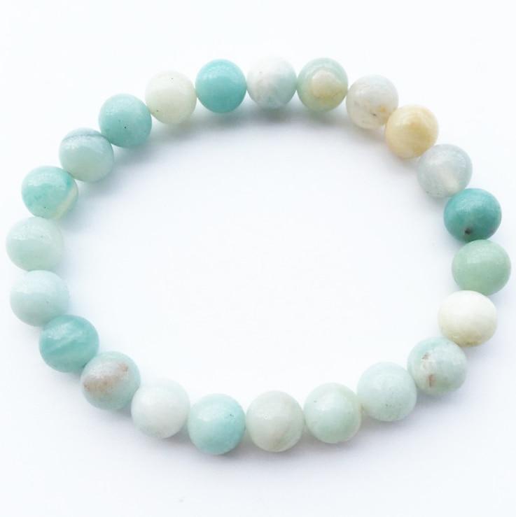 Hot Sale Jewelry 8mm Natural Semi Precious Stone Beads Calaite Lava Bracelet Antique Cross Bracelets for Women Man Gift