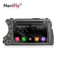 NaviFly 2 Din Car DVD multimedia radio player for ssangyong kyron/Actyon with Car GPS navigation RDS BT DVR video 1080P
