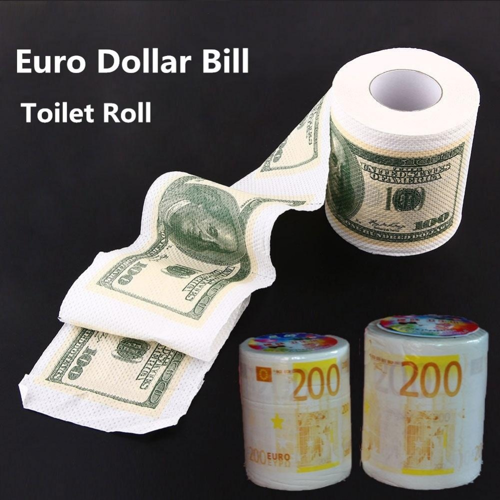 Popular euro dollar buy cheap euro dollar lots from china for Money bathroom decor