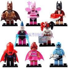 DR TONG Super Heroes Avengers Lobster ovin s Batman Harley Quinn Fairy Batman Mini Dolls Building