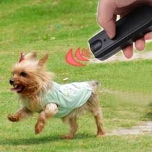 Repellents Barking-Stopper Train Deterrent Dog Ultrasonic Anti-Bark LED Cachorro Aggressive