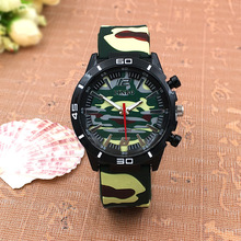 hot deal buy 2016 camouflage silicone casual watches men's military wristwatch fashion accessories quartz watch outdoor men's sports watches