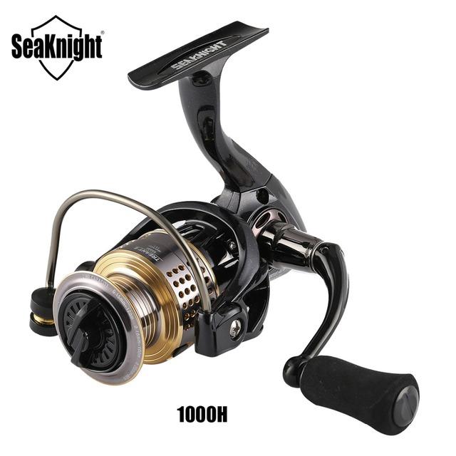 SeaKnight TREANT II 5.0:1 6.2:1 Fishing Reel 1000H 2000H 3000H 4000H Spinning Reel 13KG Max Drag Power Bass Carp Fishing Tackles