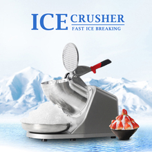 ITOP Electric Ice Crusher CE Shaver Chopper Juice Snow Cone Maker Cocktails Shatter In Stock 60kgs/h Commercial Ice Chopper