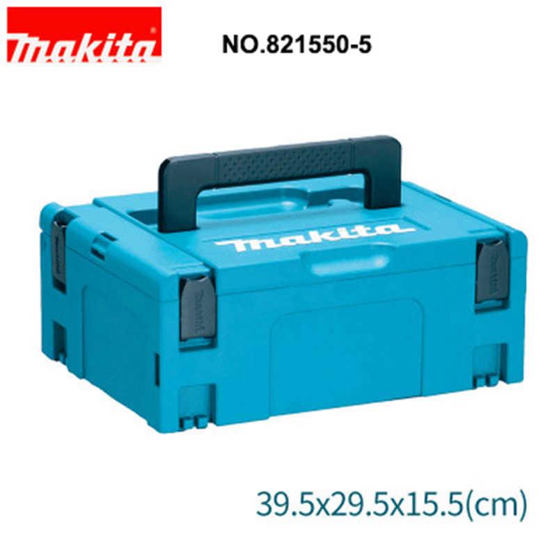 Япония Makita Toolbox кулер коробка инструменты чемодан MAKPAC коробка для хранения тележка чемодан