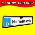 Для SONY CCD HD автомобильный заднего вида камеры резервное копирование обратный универсальный Европейский Рамка Номерного знака хорошее изображение с LED камера