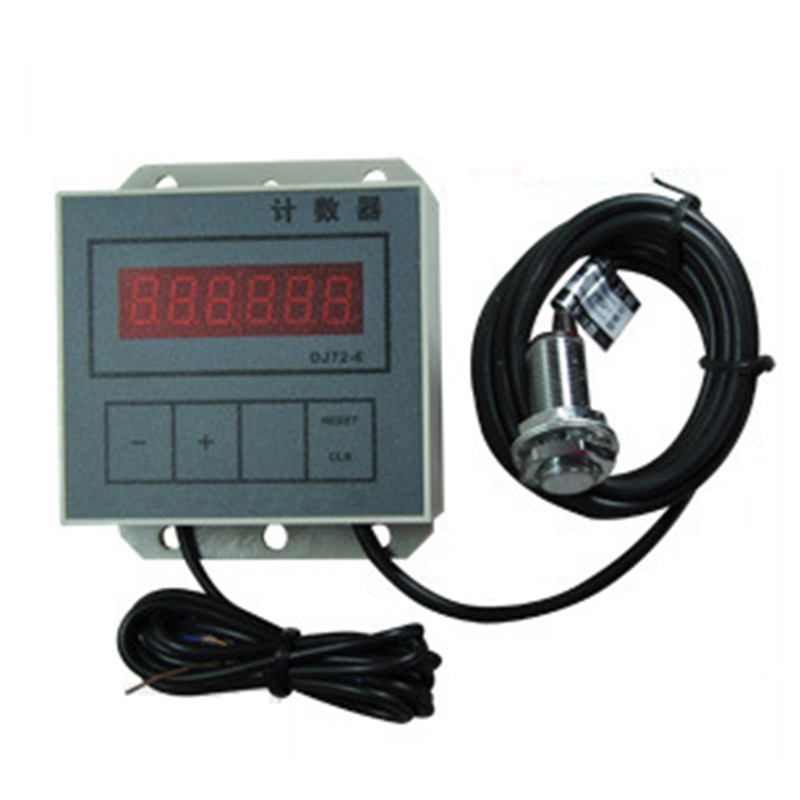 CZ72-8 6 digit counters Lathe counter Punch counter with magnetic switch Hall switch sensor magnet count DJ72-6-1 цена