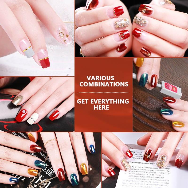 polonês conjunto kit embeber vernizes gel manicure