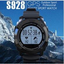 Mesuvida S928 Frecuencia Cardíaca en tiempo Real Tracker GPS Reloj Inteligente Medio de Presión de Aire de Temperatura Altura Reloj Deportivo PK K88H GW01
