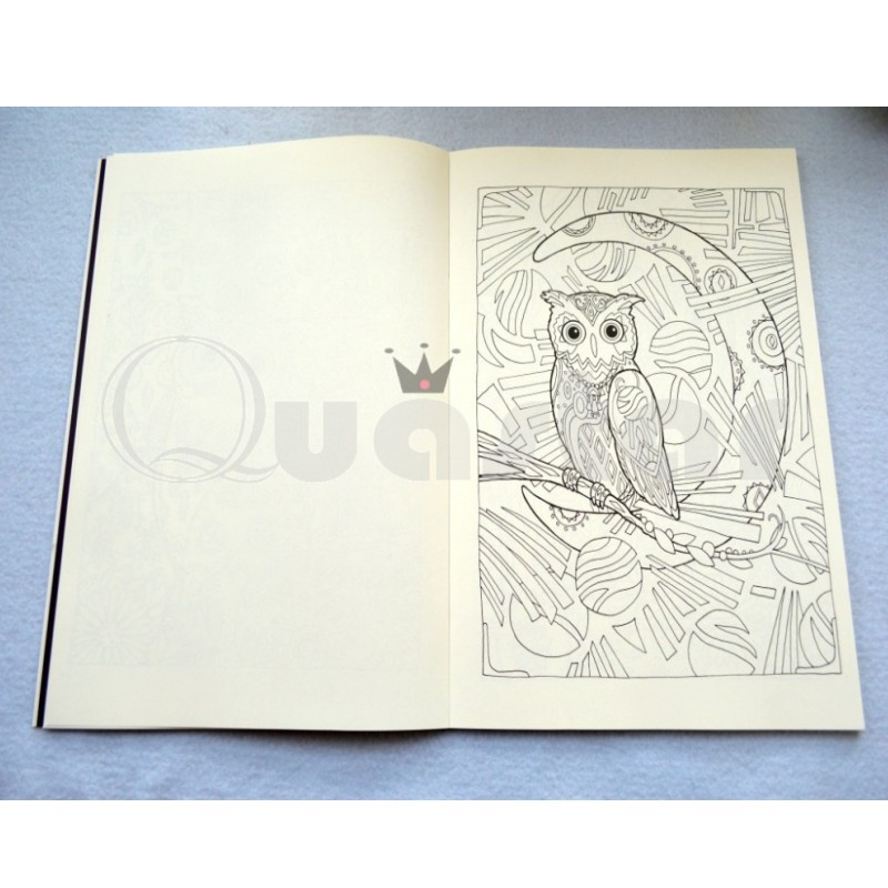EULEN malbuch antistress malbuch für erwachsene Stress kunst Malerei ...