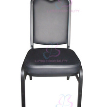 Hot sale stacking steel banquet chair LUYISI1039