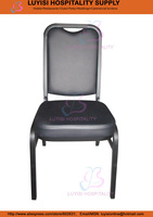 Hot Sale Stacking Steel Banquet Chair LUYISI1039 Fabric 5pcs Carton Safe Package