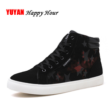 New 2018 Canvas Shoes for Men Sneakers High top Black Shoes Men's Casual Shoes Male Brand Fashion High Sneakers Breathable K106(China)