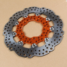 universal 200mm 220mm 260mm motorcycle floating brake disc hole shape ncy modified motorcycle brake disc fit motoo dirt bikt atv Universal 260mm motorcycle brake disc Modified Motorcycle Rapid Floating disc RPM Racing Parts Fit Scooter ATV&Quad Dirt bikes