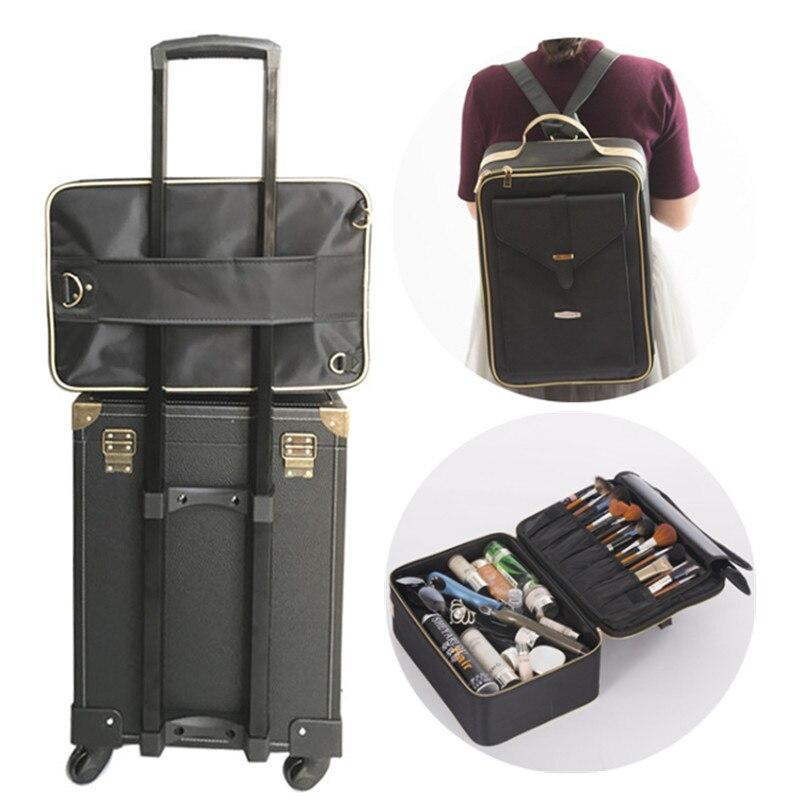 Косметичка, коробка для макияжа, набор для макияжа, чехол для хранения инструментов для ногтей, женские туалетные принадлежности, Многофунк...