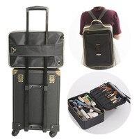 Cosmetic bag ,Makeup box,Make up kit, Nail tool Storage Case,Women toiletries , Multifunctional suitcase