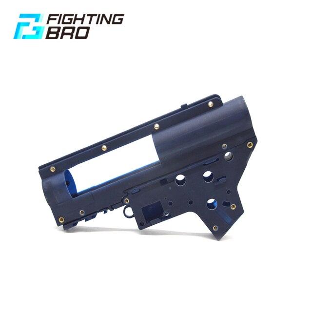 FightingBro 3.0 Gel Gearbox Gel Split Gearbox Nylon Receiver For Airsoft AEG Air Guns M4 Paintball