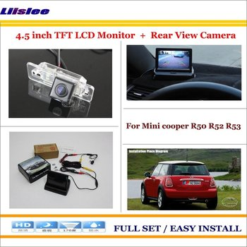 """Car 4.3"""" TFT LCD Screen Monitor For Mini cooper R50 R52 R53 Car Backup Rear Camera Rearview Parking System"""