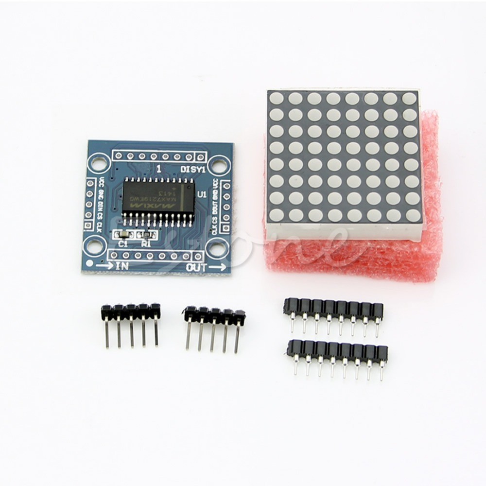 MAX7219 Dot Matrix Display Module for Arduino Single-chip Microcontroller Control