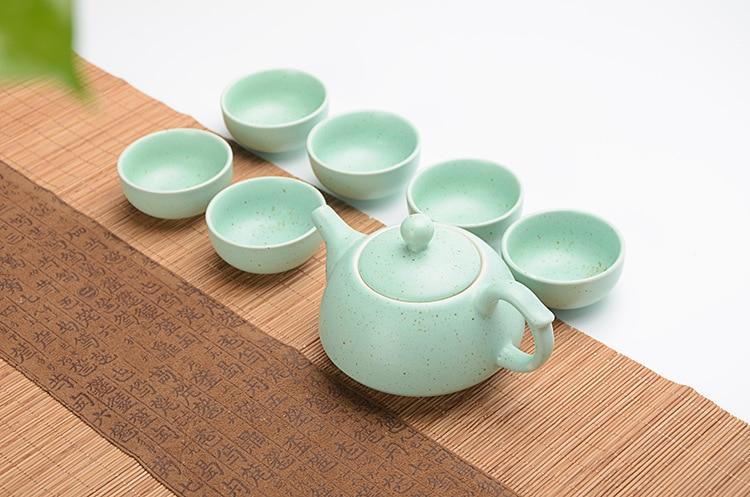 Beautiful Ceramic Gong Fu Teaset